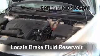 2008-2012 Chevrolet Malibu Brake Fluid Level Check