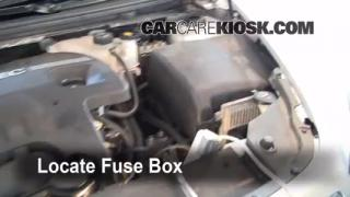 Blown Fuse Check 2008-2012 Chevrolet Malibu