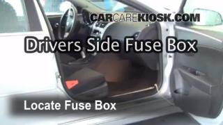 Interior Fuse Box Location: 2008-2012 Chevrolet Malibu