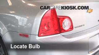 Tail Light Change 2008-2012 Chevrolet Malibu
