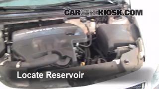 Check Windshield Washer Fluid Chevrolet Malibu (2008-2012)