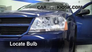 2010 Dodge Avenger SXT 2.4L 4 Cyl. Lights Daytime Running Light (replace bulb)