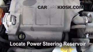 2010 Dodge Journey SXT 3.5L V6 Power Steering Fluid Check Fluid Level