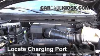 2010 Ford F-150 SVT Raptor 6.2L V8 Air Conditioner Recharge Freon