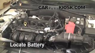 Battery Replacement: 2010-2012 Ford Fusion