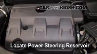 2010 GMC Terrain SLT 3.0L V6 Power Steering Fluid Add Fluid