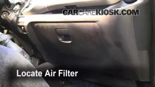 2009-2013 Honda Fit Cabin Air Filter Check