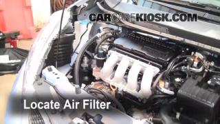 2010 Honda Fit Sport 1.5L 4 Cyl. Air Filter (Engine) Replace