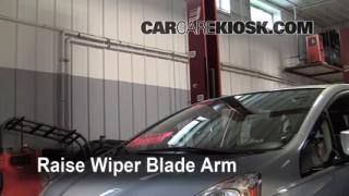 Front Wiper Blade Change Honda Fit (2009-2013)