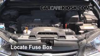 2010 Hyundai Elantra GLS 2.0L 4 Cyl. Fuse (Engine) Check