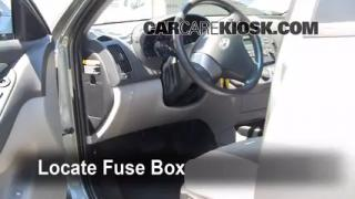 2010 Hyundai Elantra GLS 2.0L 4 Cyl.%2FFuse Interior Part 1 interior fuse box location 2007 2012 hyundai elantra 2010 2010 hyundai accent fuse box diagram at crackthecode.co