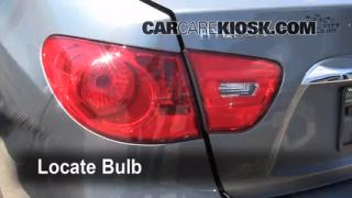 2010 Hyundai Elantra GLS 2.0L 4 Cyl. Lights Tail Light (replace bulb)