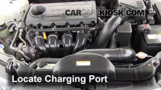 2010 Kia Forte EX 2.0L 4 Cyl. Sedan (4 Door) Air Conditioner Recharge Freon