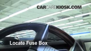 Interior Fuse Box Location: 2006-2010 Lincoln MKZ