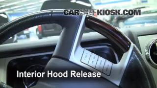 Open Hood How To 2006-2010 Lincoln MKZ