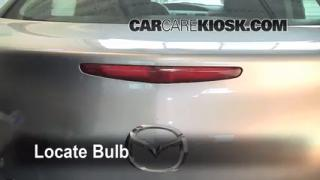 Third Brake Light Bulb Change Mazda 3 (2010-2013)