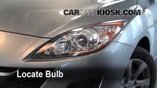 Highbeam (Brights) Change: 2010-2013 Mazda 3