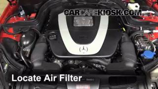 Battery replacement 2010 2016 mercedes benz e350 2010 for Mercedes benz e350 air filter replacement