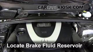2010 Mercedes-Benz R350 4Matic 3.5L V6 Brake Fluid Add Fluid