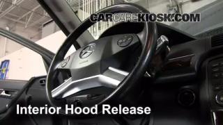 Open Hood How To 2006-2012 Mercedes-Benz R350