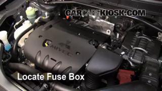 Blown Fuse Check 2007-2013 Mitsubishi Outlander