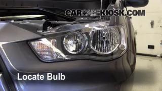 Headlight Change 2007-2013 Mitsubishi Outlander