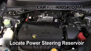 Follow These Steps to Add Power Steering Fluid to a Mitsubishi Outlander (2007-2013)