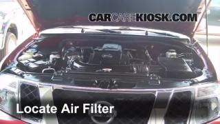 Air Filter How-To: 2005-2012 Nissan Pathfinder