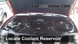 How to Add Coolant: Nissan Pathfinder (2005-2012)