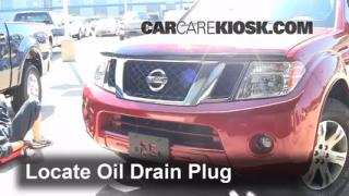 Oil & Filter Change Nissan Pathfinder (2005-2012)