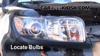 2010 Scion xB 2.4L 4 Cyl. Lights Parking Light (replace bulb)