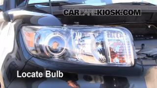 2010 Scion xB 2.4L 4 Cyl. Lights Turn Signal - Front (replace bulb)