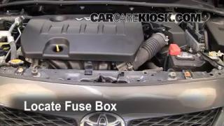 Blown Fuse Check 2009-2013 Toyota Corolla