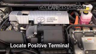 How to Jumpstart a 2010-2015 Toyota Prius