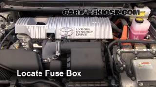 Blown Fuse Check 2010-2015 Toyota Prius
