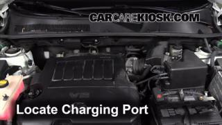 2010 Toyota RAV4 Limited 3.5L V6 Air Conditioner Recharge Freon