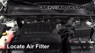 2010 Toyota RAV4 Limited 3.5L V6 Air Filter (Engine) Check