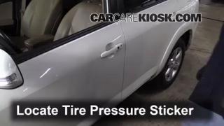 2010 Toyota RAV4 Limited 3.5L V6 Tires & Wheels Check Tire Pressure