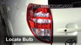 2010 Toyota RAV4 Limited 3.5L V6 Lights Tail Light (replace bulb)