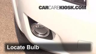 2010 Toyota RAV4 Sport 2.5L 4 Cyl. Lights Fog Light (replace bulb)