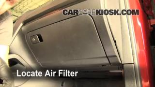 2005-2014 Volkswagen Jetta Cabin Air Filter Check
