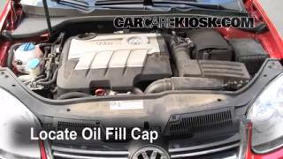 How to Add Oil Volkswagen Jetta (2005-2014)
