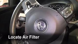 2006-2010 Volkswagen Passat Cabin Air Filter Check