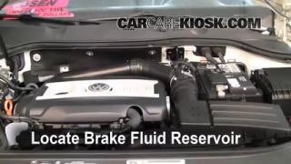 2010 Volkswagen Passat Komfort 2.0L 4 Cyl. Turbo Wagon Brake Fluid Check Fluid Level