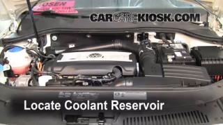 2010 Volkswagen Passat Komfort 2.0L 4 Cyl. Turbo Wagon Coolant (Antifreeze) Add Coolant