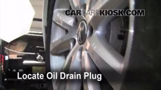 2010 Volkswagen Passat Komfort 2.0L 4 Cyl. Turbo Wagon Oil Change Oil and Oil Filter