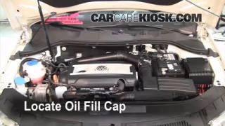 How to Add Oil Volkswagen Passat (2006-2010)