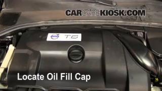 2010 Volvo S80 T6 3.0L 6 Cyl. Turbo Oil Add Oil