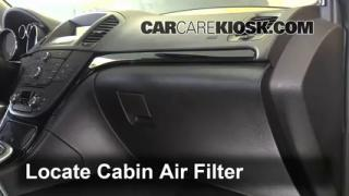 2011 Buick Regal CXL 2.0L 4 Cyl. Turbo FlexFuel Air Filter (Cabin) Replace
