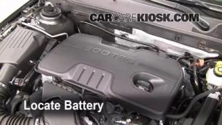 Battery Replacement: 2011-2016 Buick Regal